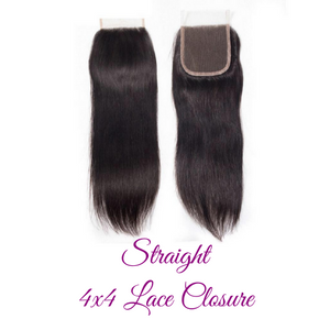 Glam 4x4 Lace Closures