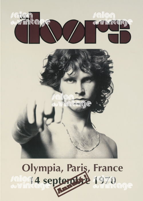 THE DOORS À L'OLYMPIA (ANNULÉ!)