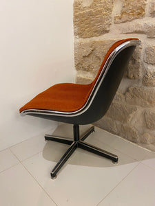 FAUTEUIL EXECUTIVE CHAIR CHARLES POLLOCK 1965