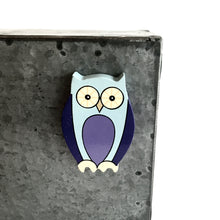 Load image into Gallery viewer, OWL - Wooden Animal Magnet