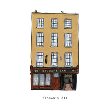 Load image into Gallery viewer, BROGAN'S BAR - Dublin Pub Print - Made in Ireland