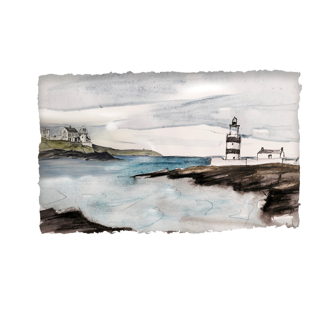BY HOOK OR BY CROOK - Hookhead and Crookhaven Lighthouses Ireland by Stephen Farnan