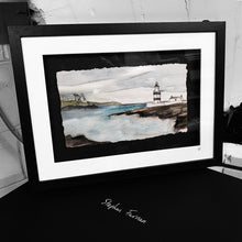 Load image into Gallery viewer, BY HOOK OR BY CROOK - Hookhead and Crookhaven Lighthouses Ireland by Stephen Farnan