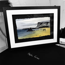 Load image into Gallery viewer, BALLYCASTLE - Beach Seaside Town County Antrim by Stephen Farnan