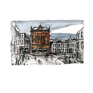 BANK BUILDINGS - Historic Belfast Centre County Antrim by Stephen Farnan