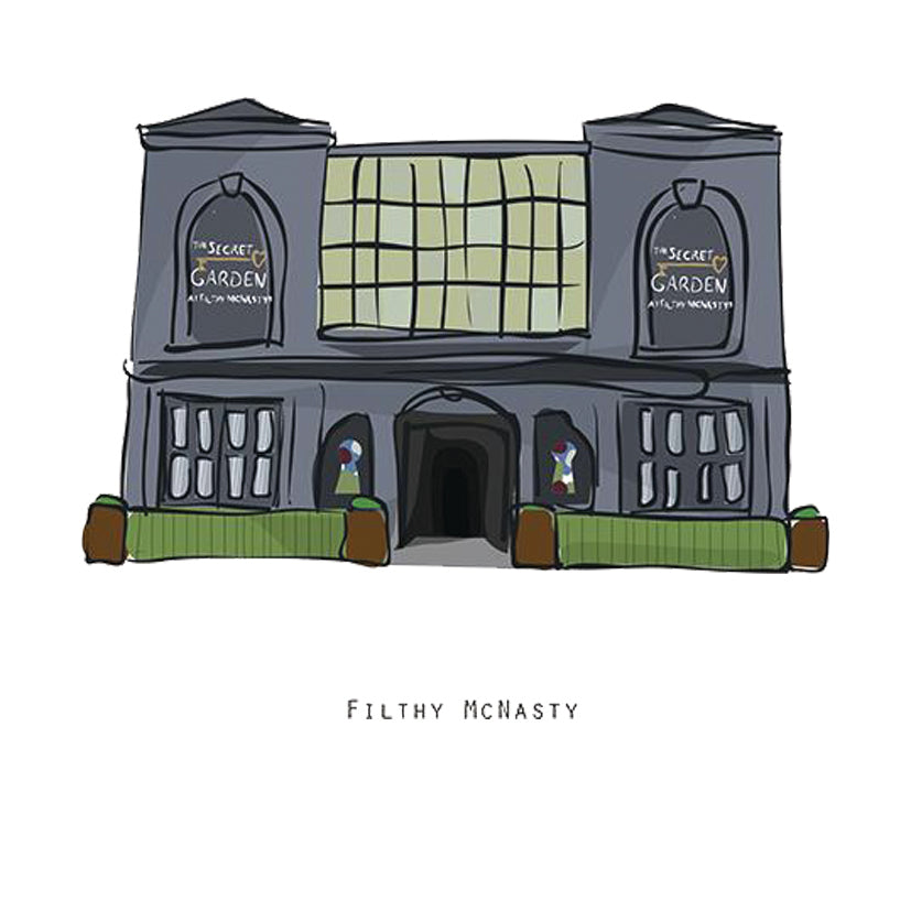 FILTHY MCNASTY - Belfast Pub Print - Made in Ireland