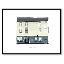 Load image into Gallery viewer, MCCRACKEN'S - Belfast Pub Print - Made in Ireland