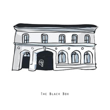 Load image into Gallery viewer, The BLACK BOX - Belfast Pub Print - Made in Ireland