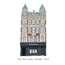 Load image into Gallery viewer, The NATIONAL - Belfast Pub Print - Made in Ireland