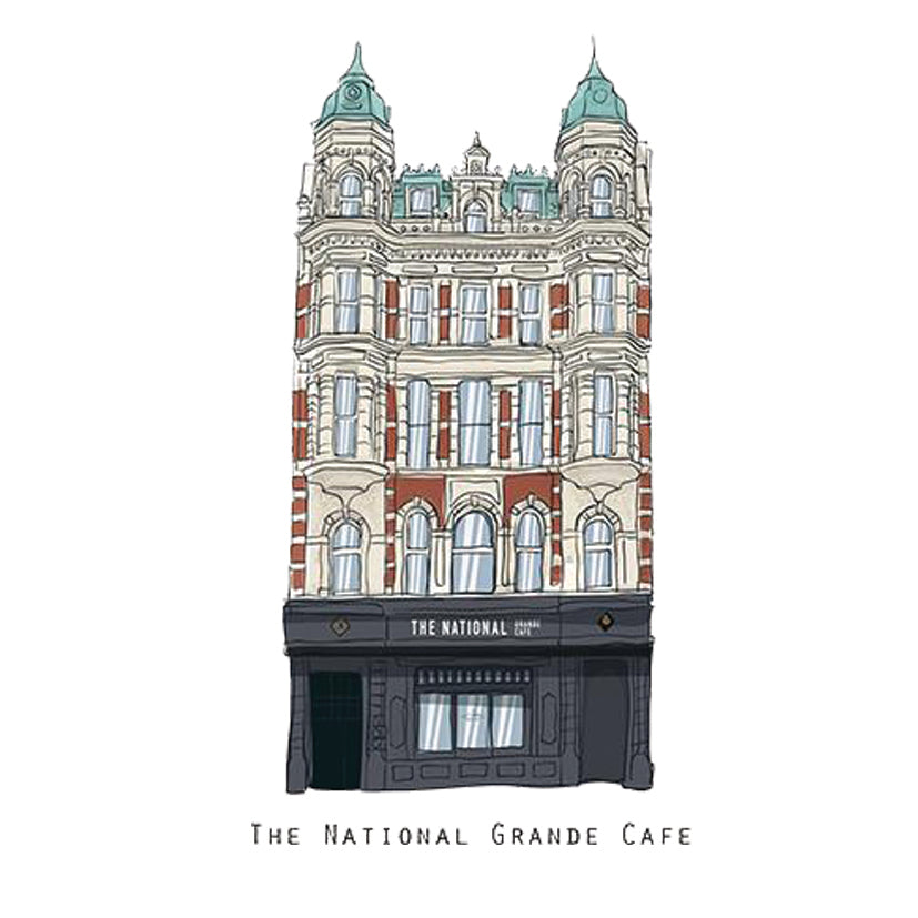 The NATIONAL - Belfast Pub Print - Made in Ireland