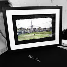 Load image into Gallery viewer, CRICKET ON THE MALL -  Club Ground County Armagh by Stephen Farnan