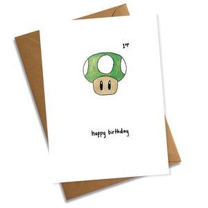 Happy Birthday - 1up