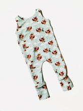 Load image into Gallery viewer, Fox Dungarees for babies