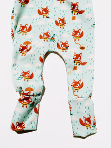 Fox Dungarees for babies