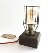 Load image into Gallery viewer, Clare Island Table Lamp - Ancient Irish Wood