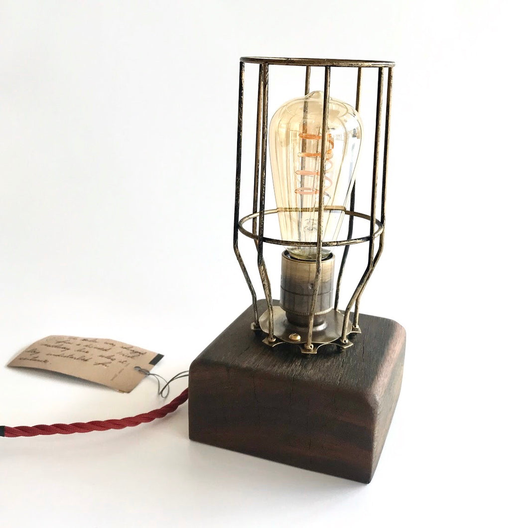 Clare Island Table Lamp - Ancient Irish Wood