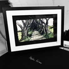 Load image into Gallery viewer, THE DARK HEDGES - Road to Kings Landing County Antrim by Stephen Farnan