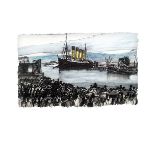 The Day Titanic Left Us - Belfast by Stephen Farnan