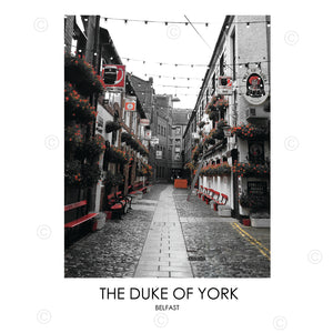 THE DUKE OF YORK BELFAST - Contemporary Photography Print from Northern Ireland