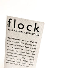 Load image into Gallery viewer, PENGUIN - Felt Wool Animal Art by Flock Studio - Made in Dublin, Ireland
