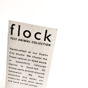 THREE BLIND MICE - Felt Wool Animal Art by Flock Studio - Made in Dublin, Ireland