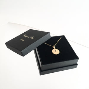 Shiny GOLD Personalised Pendant by Grá