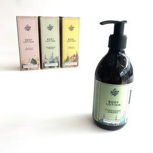 Body LOTION - Lavender, Rosemary, Thyme + Mint - Handmade in Ireland