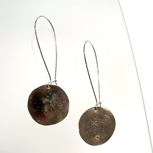 Silver Gealach Drop Earrings