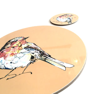 ROBIN - Placemat / Coaster - Orange