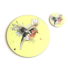 Load image into Gallery viewer, ROBIN - Placemat / Coaster - Yellow