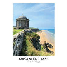 Load image into Gallery viewer, Mussenden Temple - Contemporary Photography Print from Northern Ireland