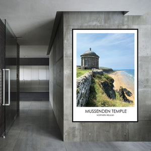 Mussenden Temple - Contemporary Photography Print from Northern Ireland