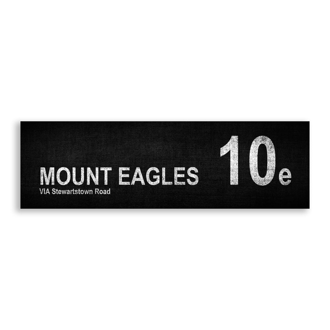 MOUNT EAGLES 10e Via Stewartstown Road
