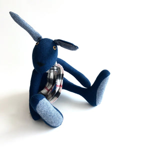 Barry - Handmade Teddy Hare - Looking for a new home!
