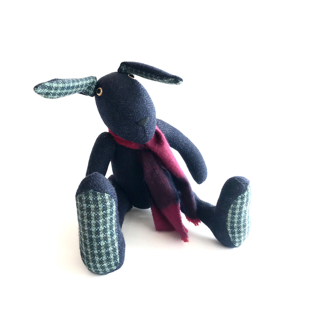 Mr Woods - Handmade Teddy Hare - Looking for a new home!