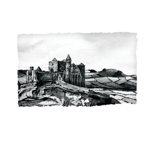 The Rock of Cashel - County Tipperary by Stephen Farnan