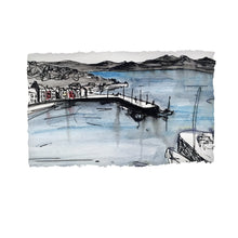 Load image into Gallery viewer, Roundstone Harbour - County Galway by Stephen Farnan