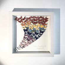 Load image into Gallery viewer, BUTTERFLY BUTTERFLIES - Raku Ceramic Art by Rebeka Kahn