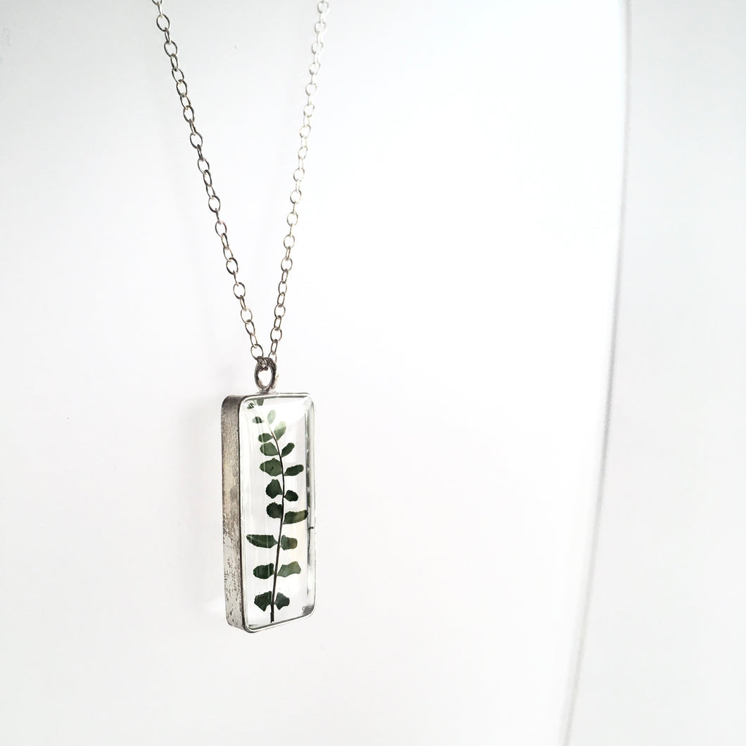 FOREST FERN Pendant Necklace