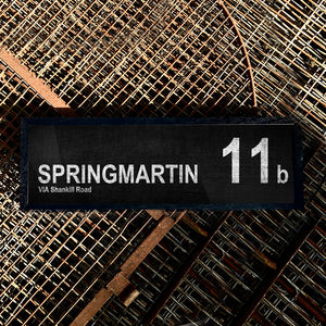 SPRINGMARTIN 11b Via Shankill Road