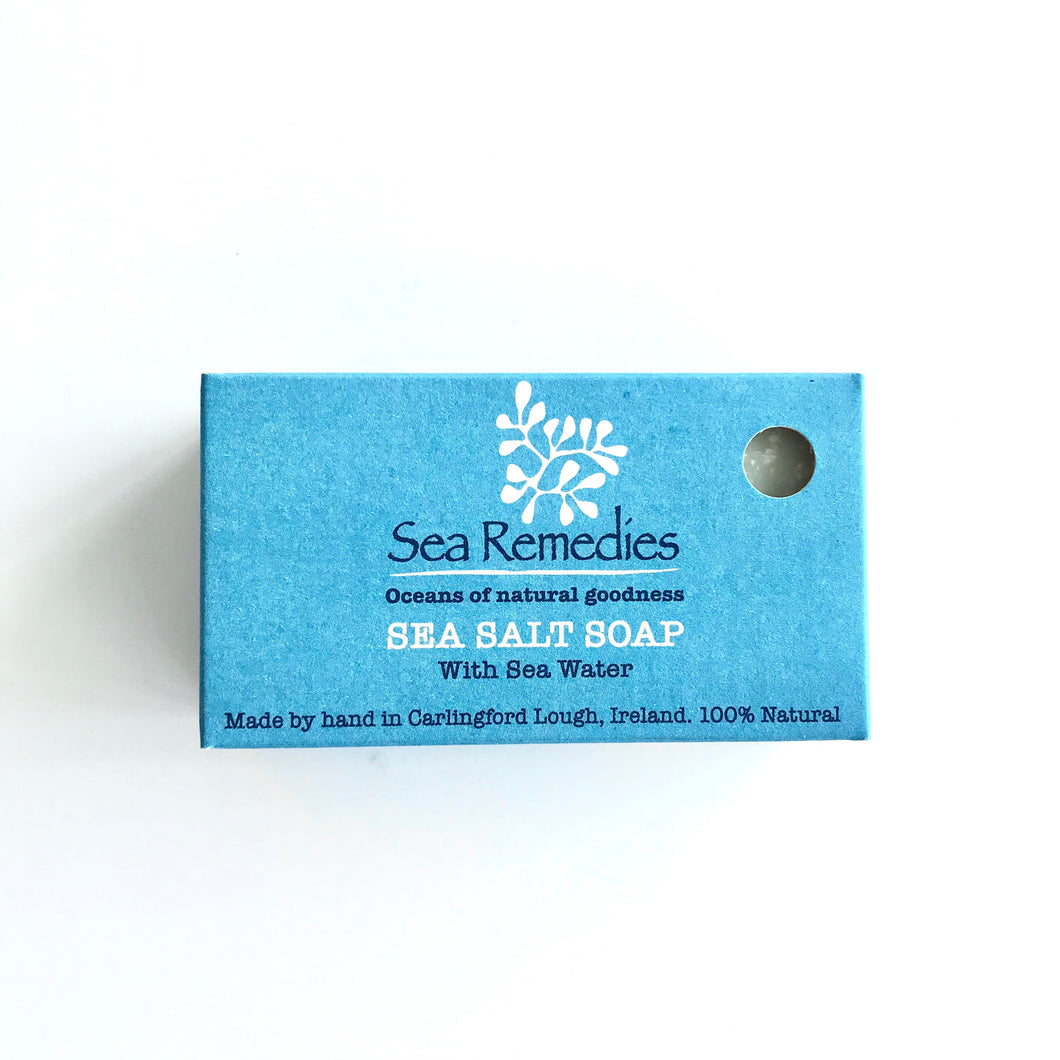 SEA SALT SOAP BAR - Bath Salts from Carlingford Lough, Ireland