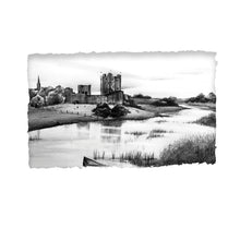 Load image into Gallery viewer, TRIM CASTLE - Norman Castle River Boyne County Meath by Stephen Farnan