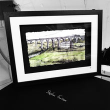 Load image into Gallery viewer, THE VIADUCT - Tassagh Railway Viaduct County Armagh by Stephen Farnan