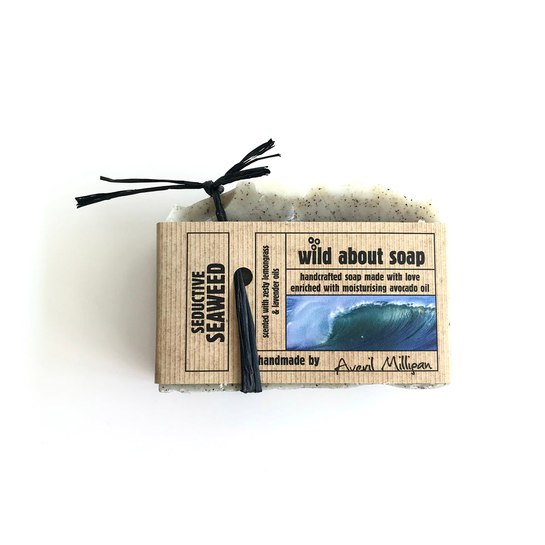 SEDUCTIVE SEAWEED soap - with Avocado Oil - Made in Ireland