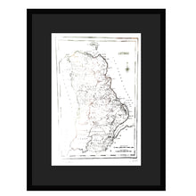Load image into Gallery viewer, ANTRIM MAP - Stunning Metallic Art