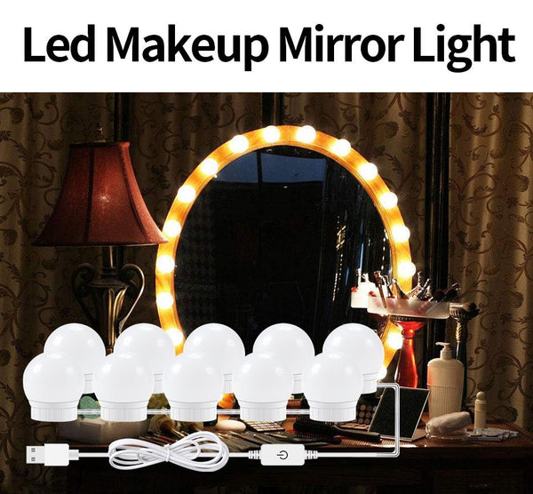 LED Makeup Mirror Light Bulbs for Dressing Table
