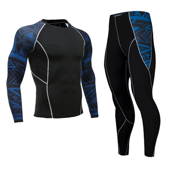 Men's Sportswear Compression Suit