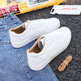 Women Sneakers Leather Shoes