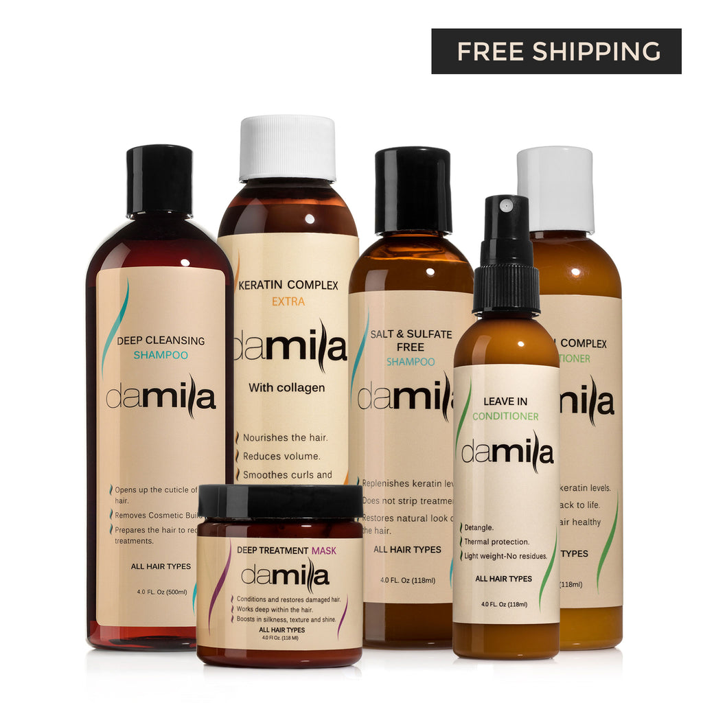 Damila Keratin Complex Treatment Kit (Extra)