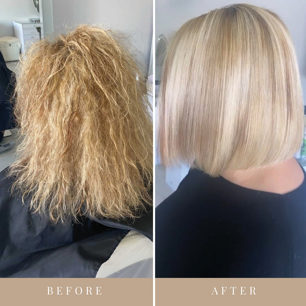 Before & After Formaldehyde-Free Keratin Treatment